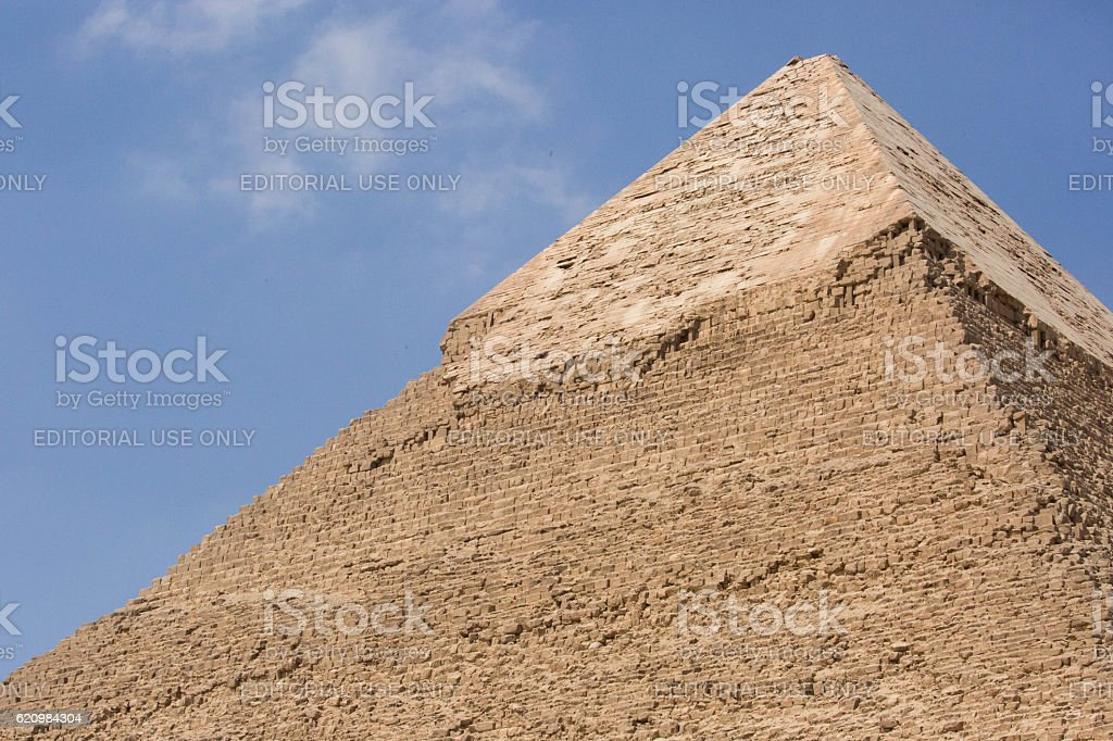 Egypt: Pyramid of Khafre in Giza foto royalty-free