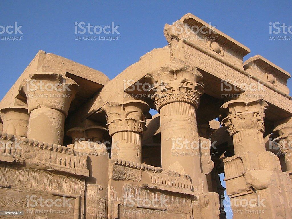 Egypt - Temple royalty-free stock photo