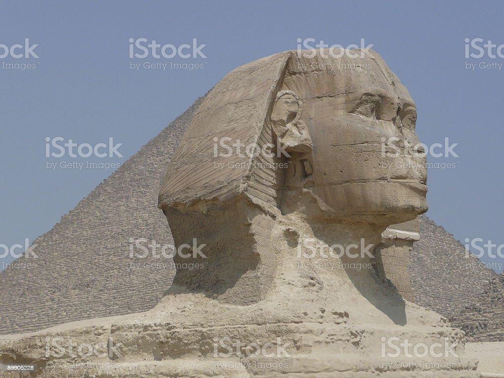 Egypt. The Sphinx. stock photo