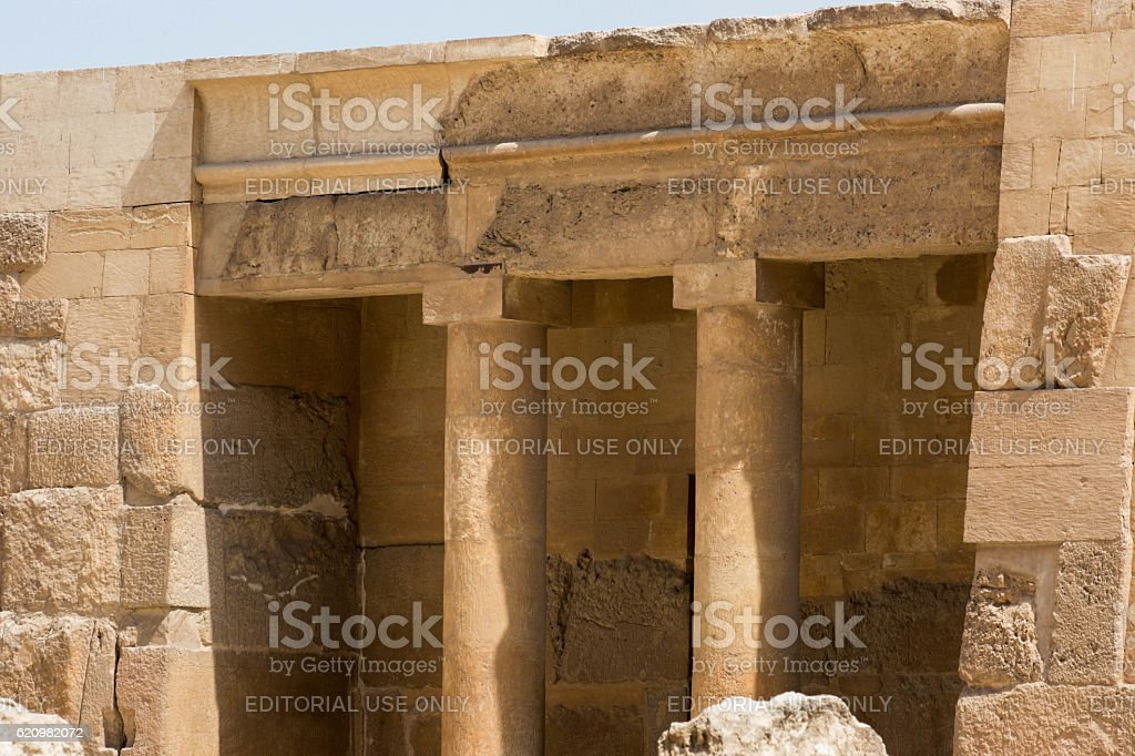Egypt: Western Cemetery at Giza foto royalty-free