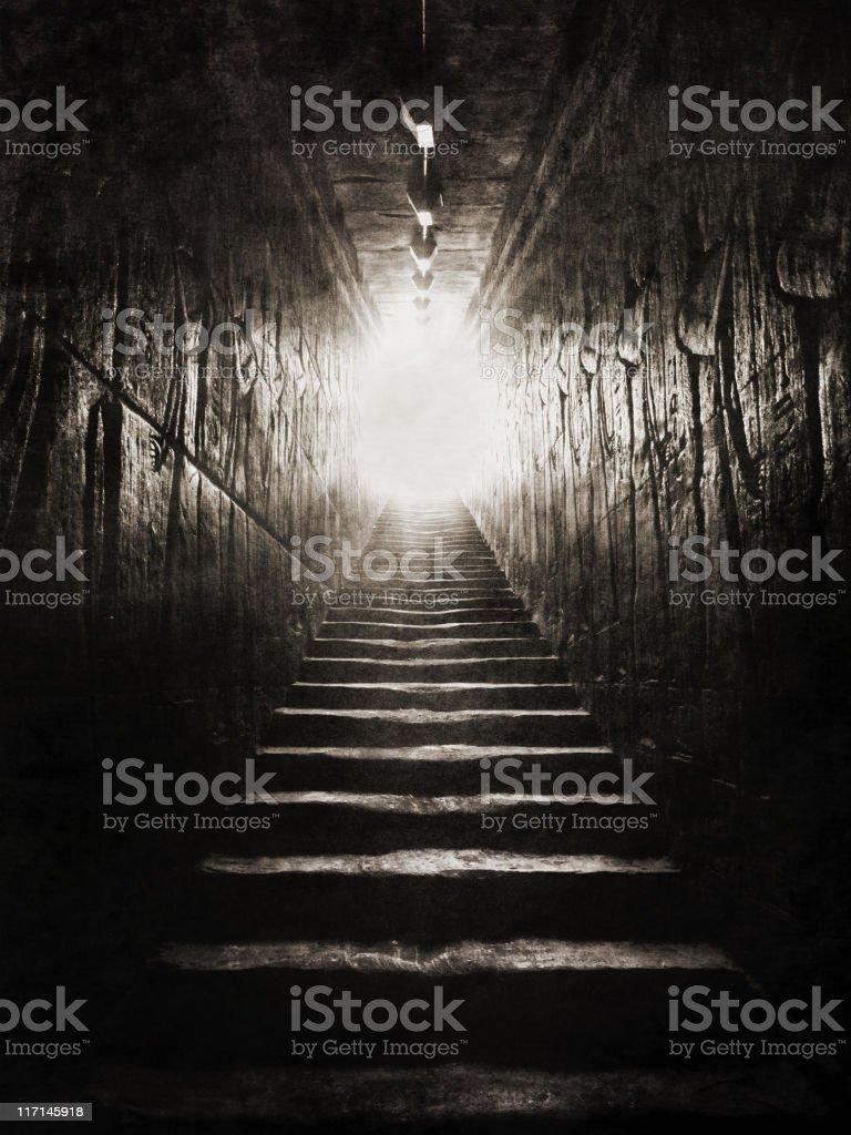 Egyptian Ascension stock photo