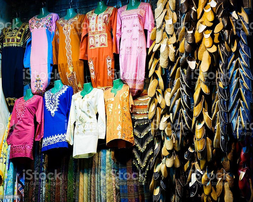 Egyptian Baazar royalty-free stock photo