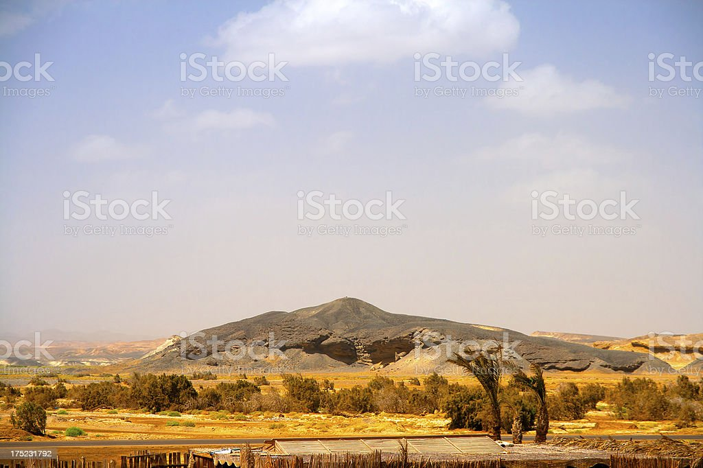 Egyptian desert stock photo