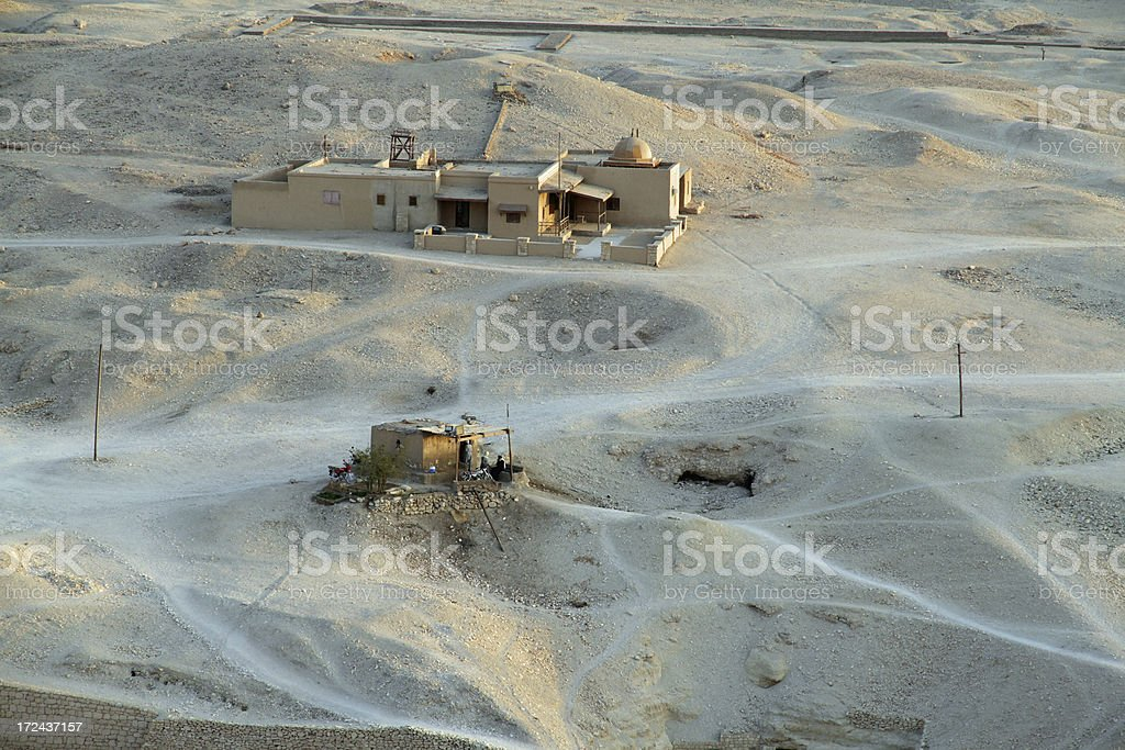 Egyptian Dwellings royalty-free stock photo
