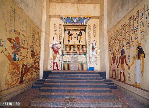 istock egyptian fresco 471491159