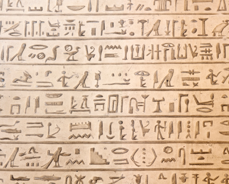 614744994 istock photo Egyptian hieroglyphics 475716745