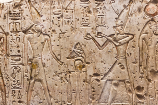 614744994 istock photo Egyptian hieroglyphics 475753529