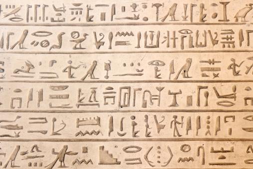 614744994 istock photo Egyptian hieroglyphics 475844515