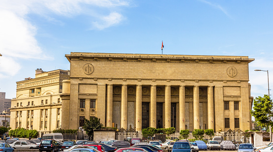 468444004 istock photo Egyptian High Court of Justice in Cairo 466085012