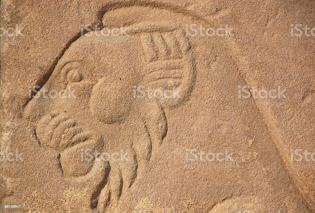 Ritratto di leone egiziano foto stock royalty-free