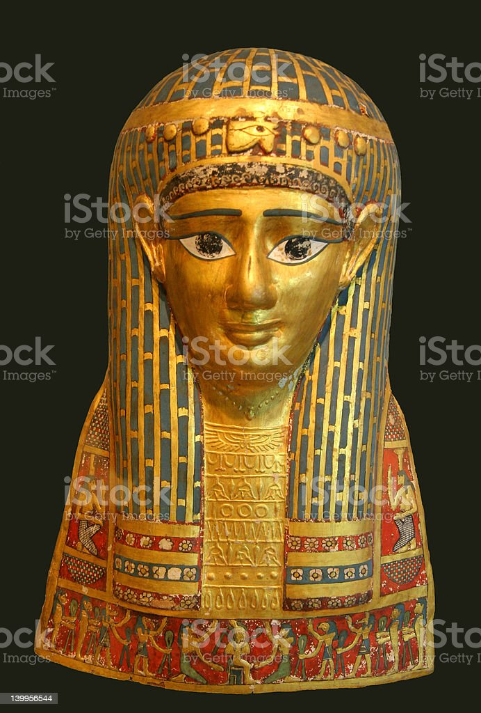 Egyptian Mask royalty-free stock photo