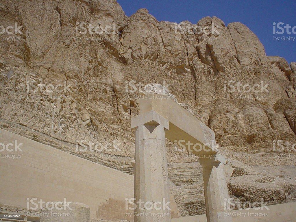 Egyptian monument royalty-free stock photo