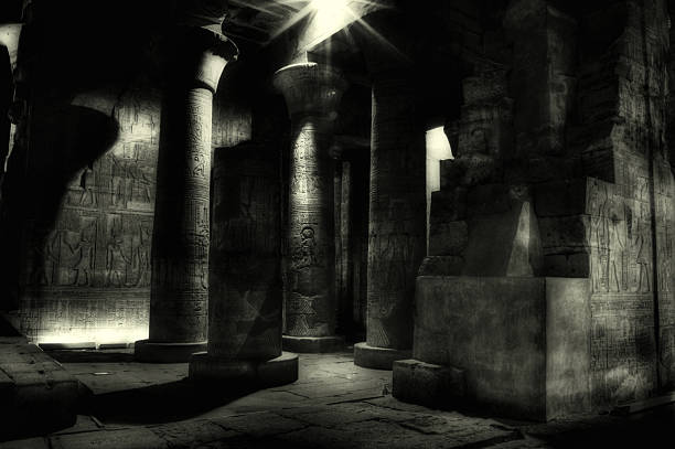 Egyptian Mummy Tomb, Kom Ombo ( Egypt )  tomb stock pictures, royalty-free photos & images