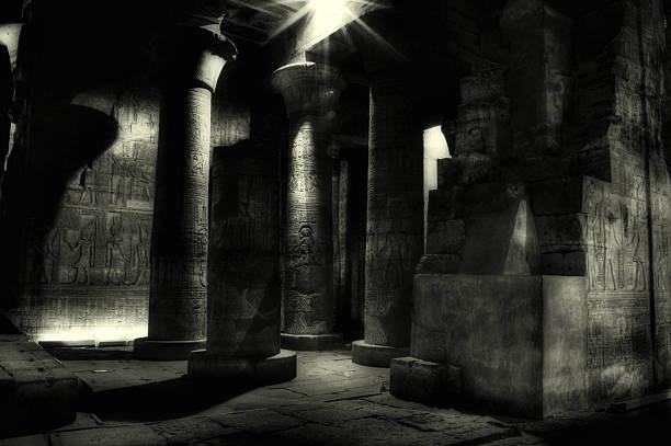 Egyptian Mummy Tomb, Kom Ombo ( Egypt ) stock photo