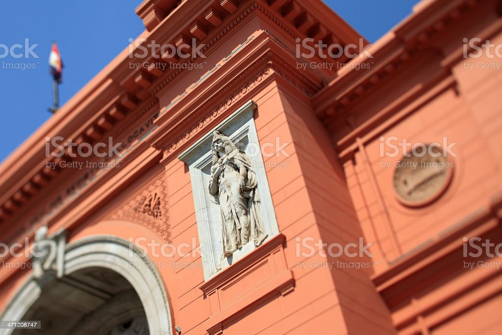 Egyptian Museum, Cairo stock photo