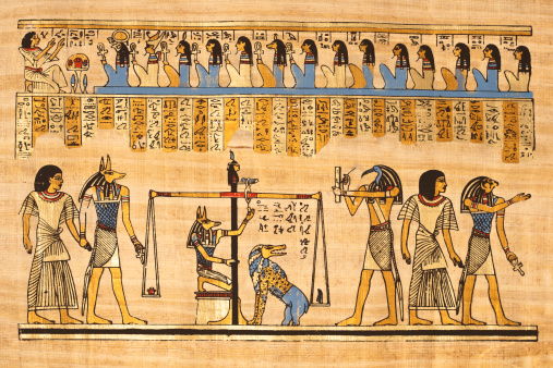 Egyptian Papyrus Stock Photo - Download Image Now