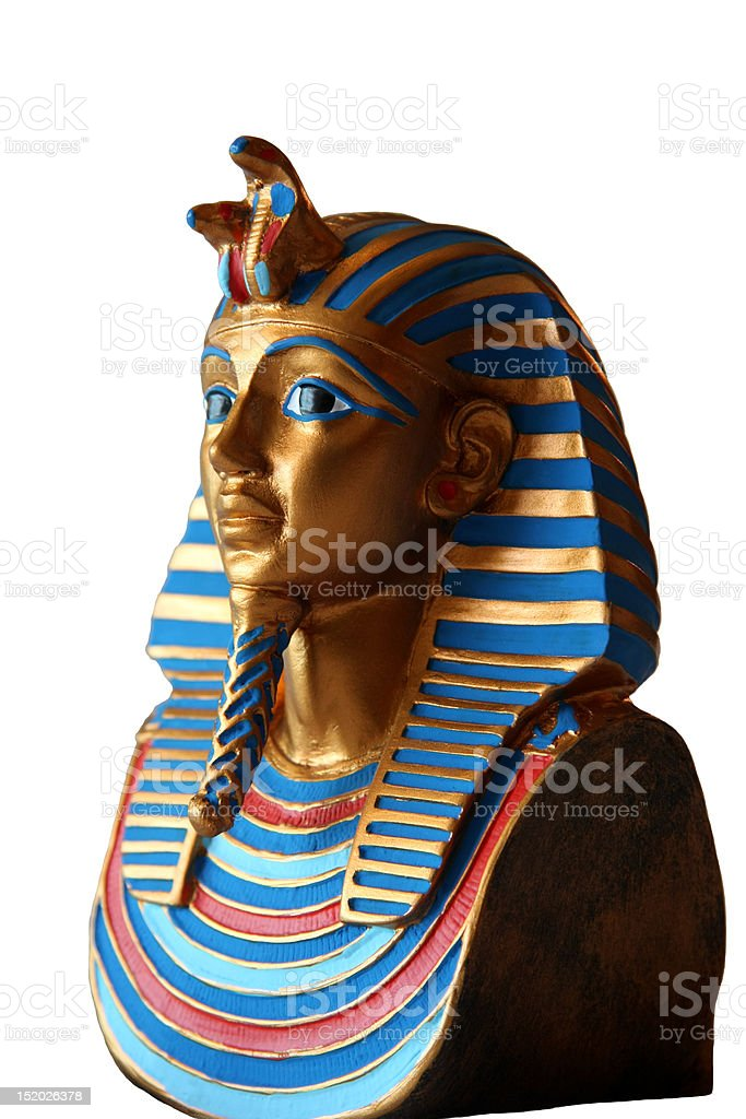 Egyptian pharaoh royalty-free stock photo