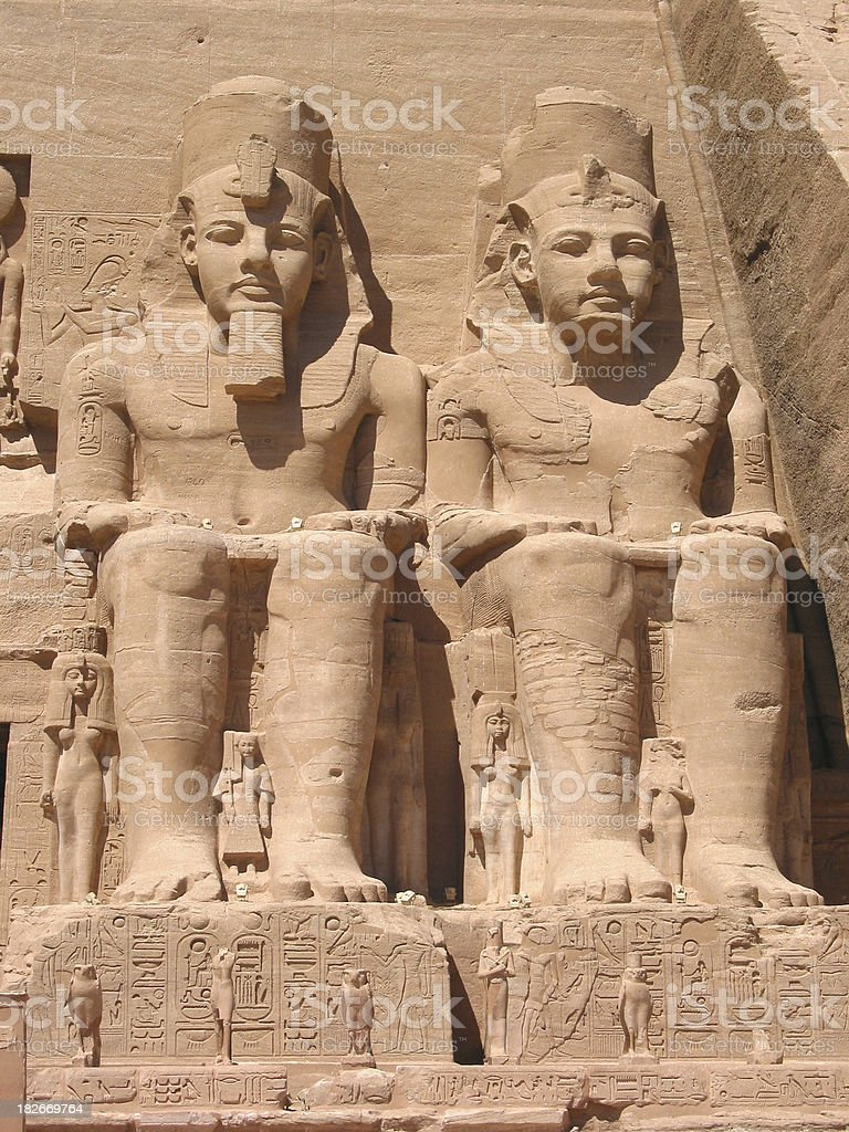 Egyptian Pharaohs - Ancient Civilizations stock photo