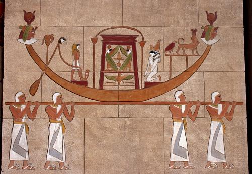 egyptian procession
