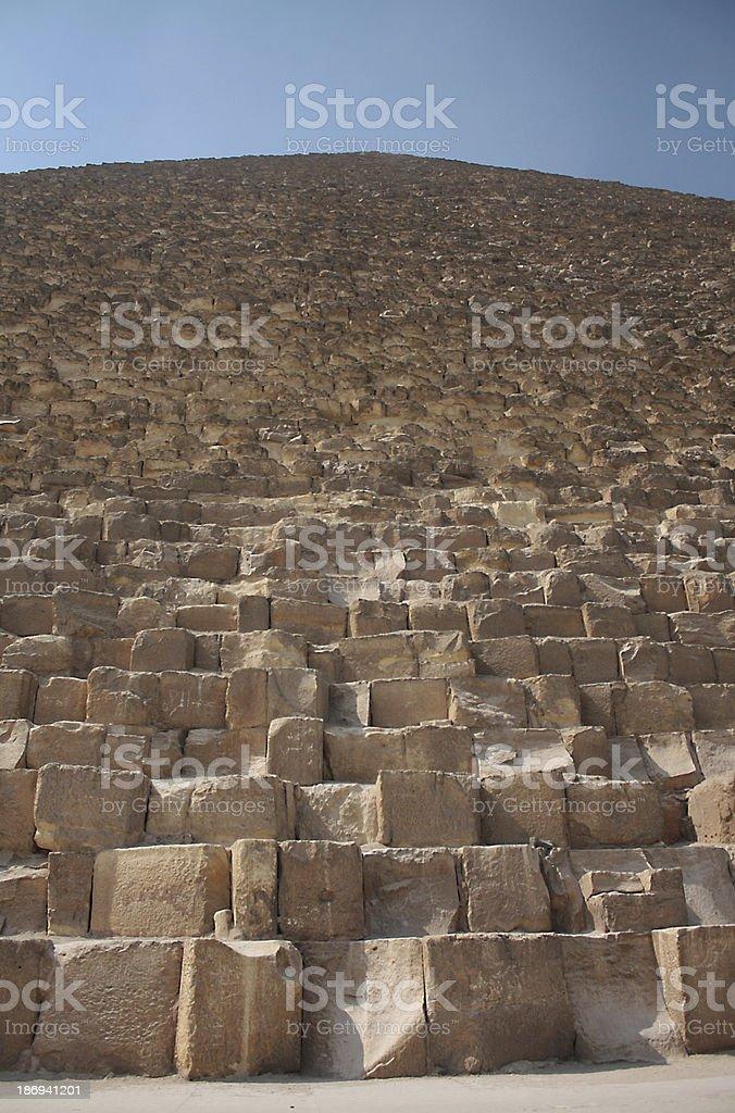 Egyptian Pyramid royalty-free stock photo