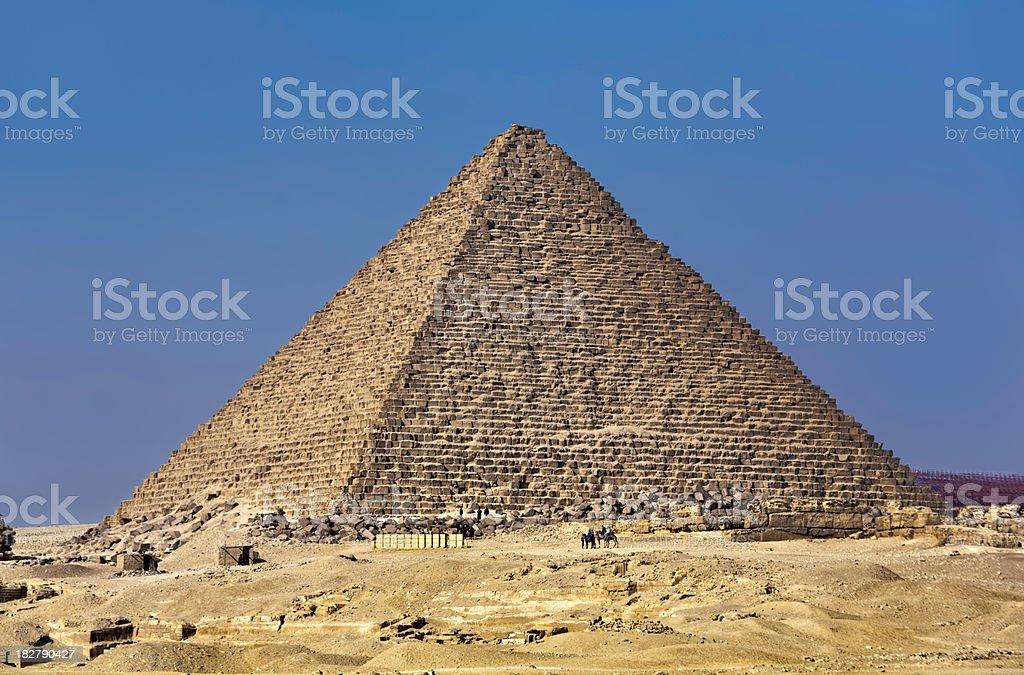 Egyptian pyramids royalty-free stock photo