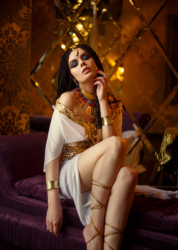 1137329370 istock photo Egyptian queen Cleopatra 671689346