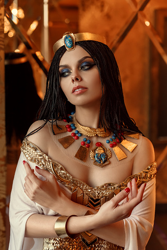 1137329370 istock photo Egyptian queen Cleopatra 671689606