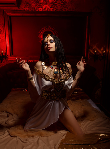 1137329370 istock photo Egyptian queen Cleopatra 671690032