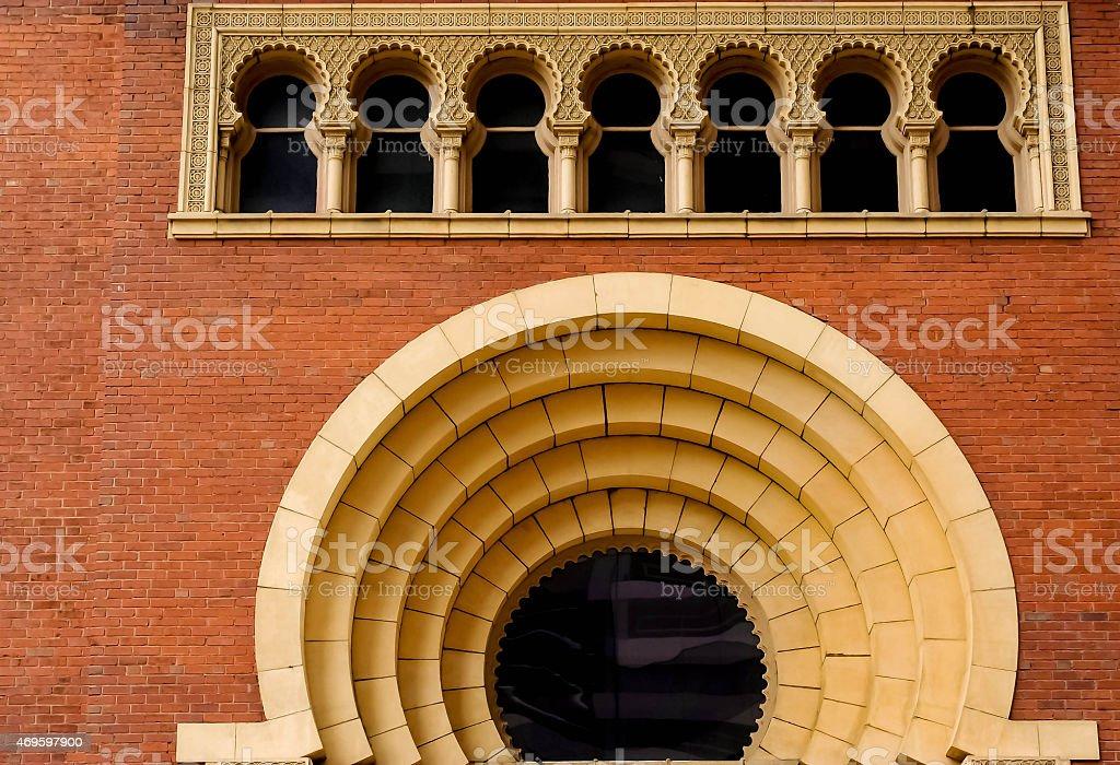 Egyptian Revival Architecture stock photo