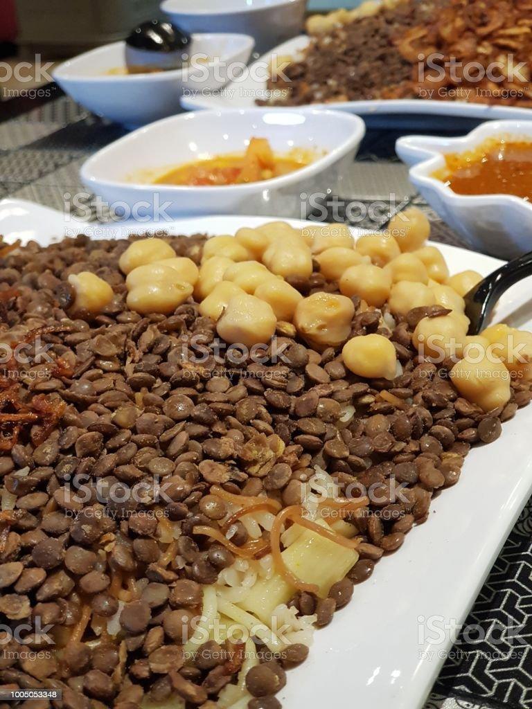 Egyptian Rice Koshari Stock Photo Download Image Now Istock