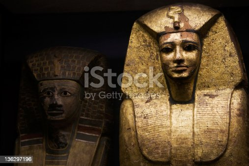 istock Egyptian sarcophagus used for ancient pharaohs 136297196
