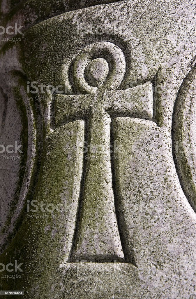 Egyptian Symbol For Ankn Or Eternal Life Stock Photo More Pictures