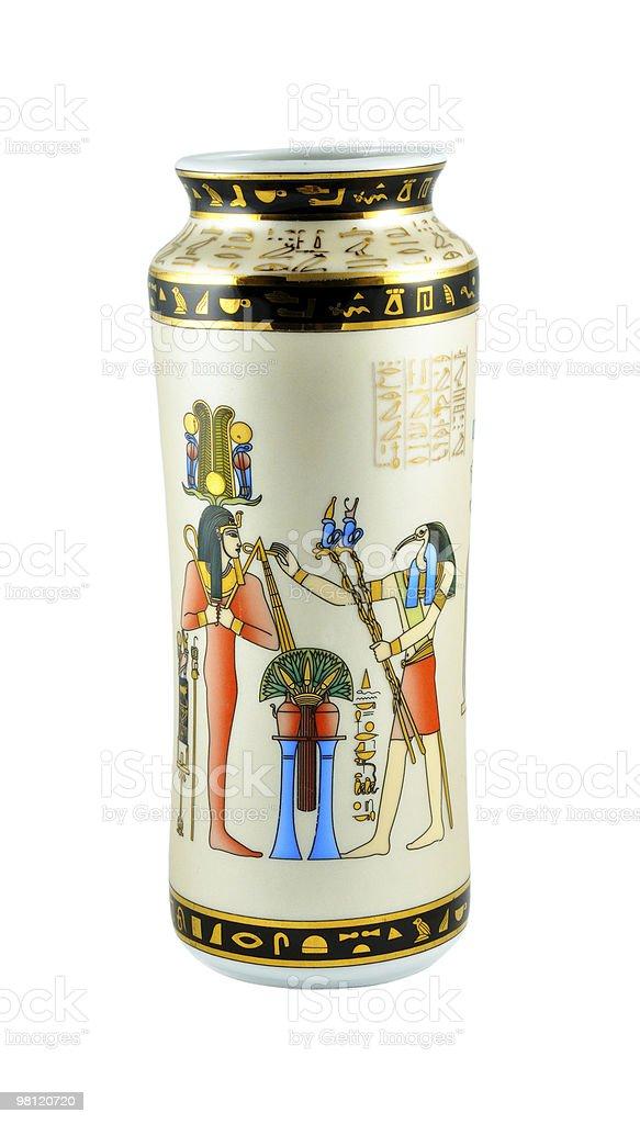 Egyptian vase royalty-free stock photo