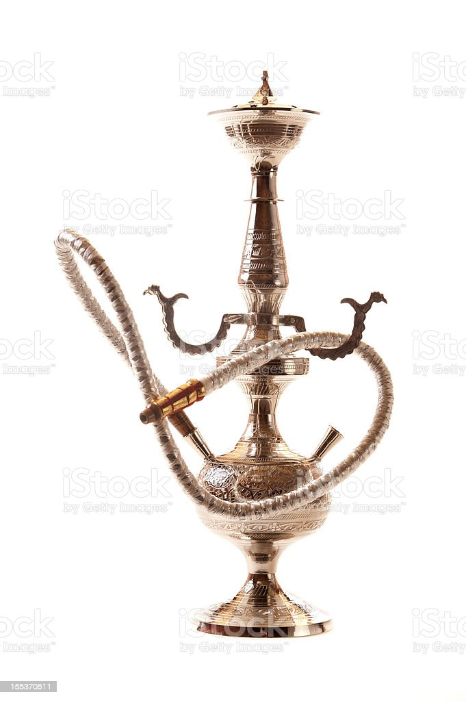 Egyptian Water Pipe stock photo