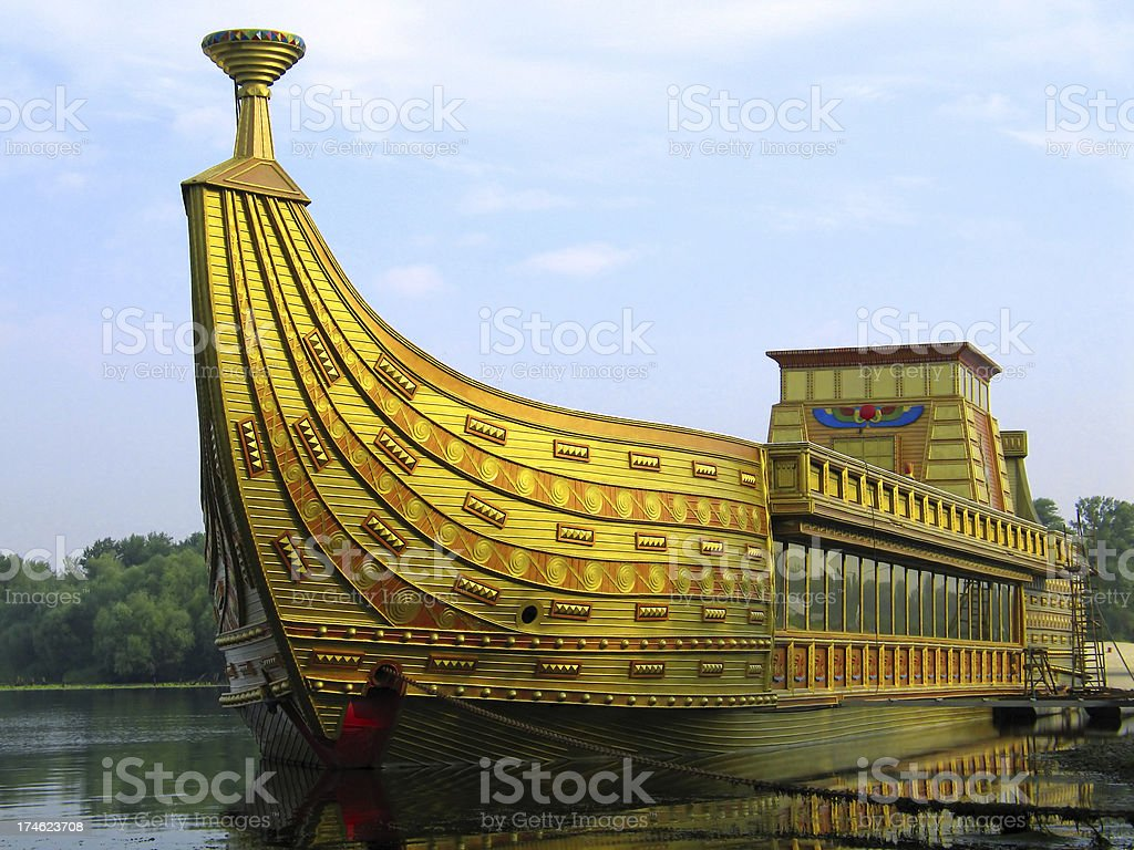 Egyptians in Europe I royalty-free stock photo