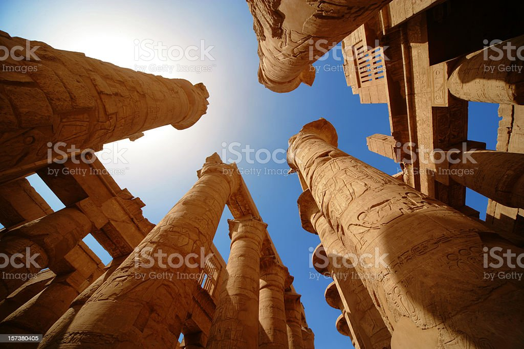 Egypt's mistery stock photo