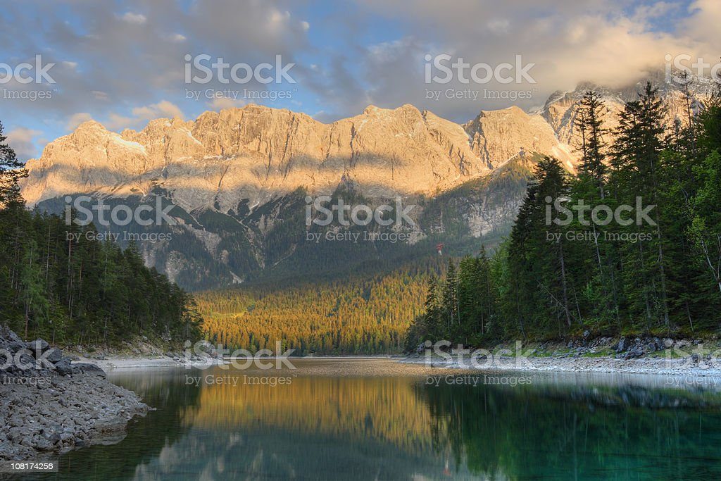 Eibsee - Bavaria royalty-free stock photo