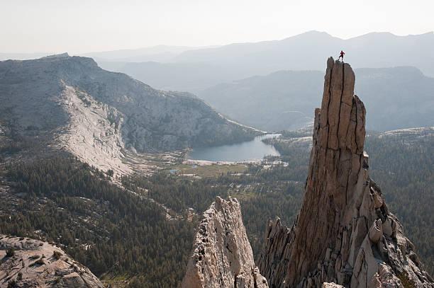 Eichorn Pinnacle Summit stock photo