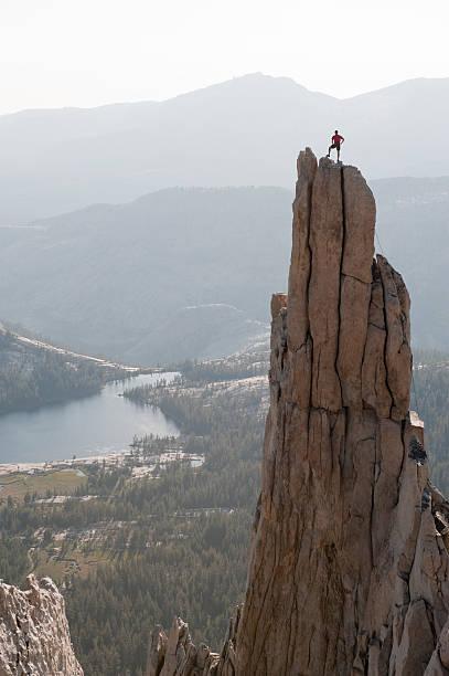 Eichorn Pinnacle Summit Vertical stock photo