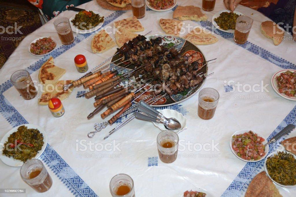 Eid Al-Adha ( the sacrifice feast) Marrakesh, Morocco stock photo