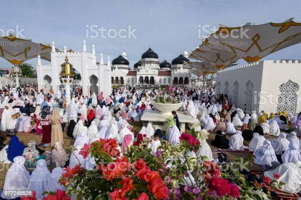 Eid Celebration in Aceh, Indonesia
