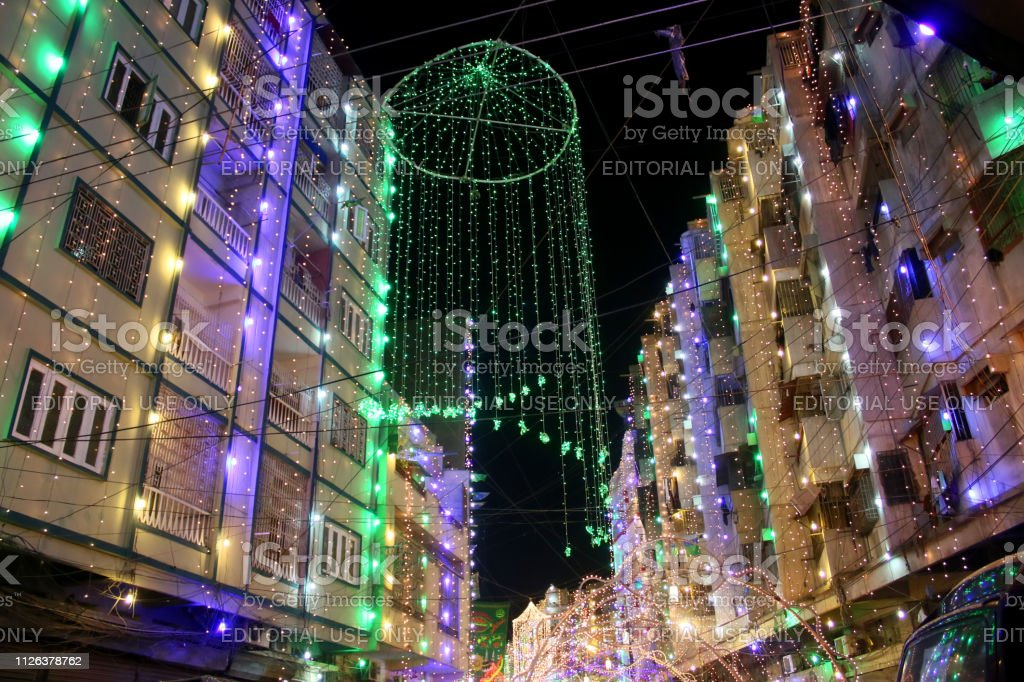 Eid Milad Unnabi Celebrations Stock Photo & More Pictures of