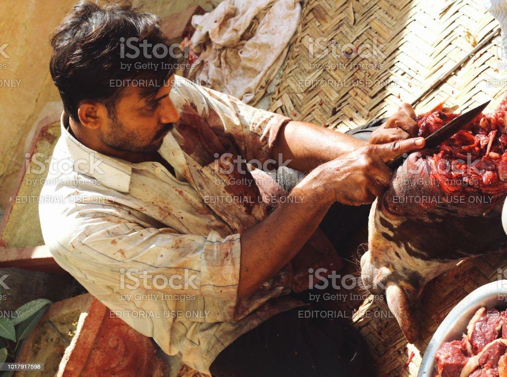 Eid-Al-Adha celebrations stock photo