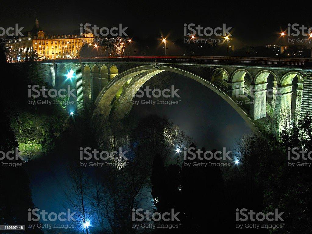 L'Eiffel des Ponts stock photo
