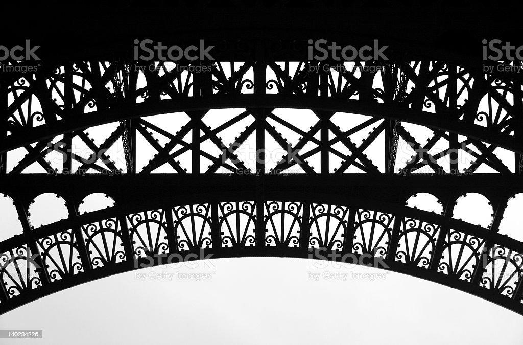 Eiffel frame 2 royalty-free stock photo