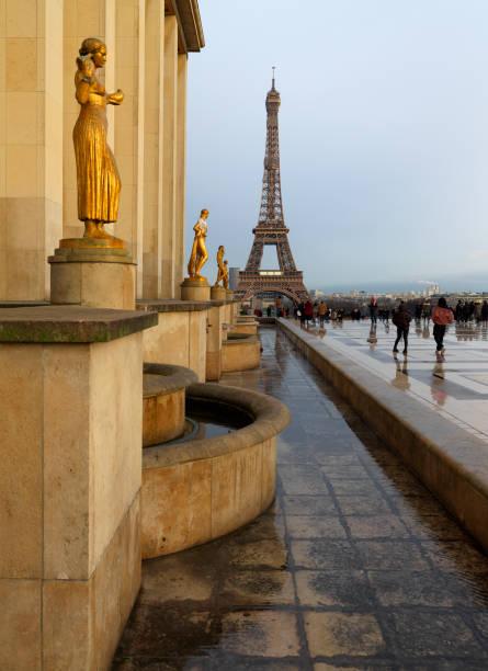 Eiffel Perspective stock photo