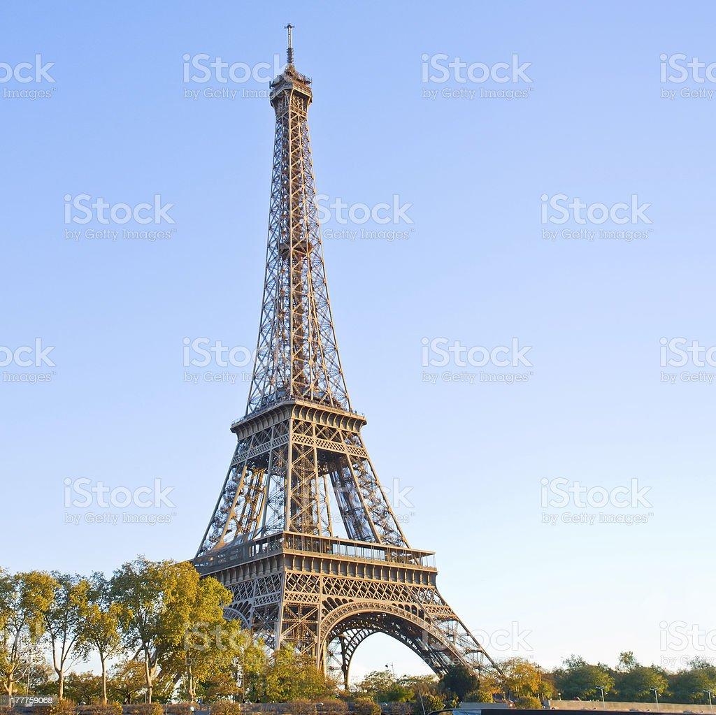 eiffel tour  in France, Paris royalty-free stock photo