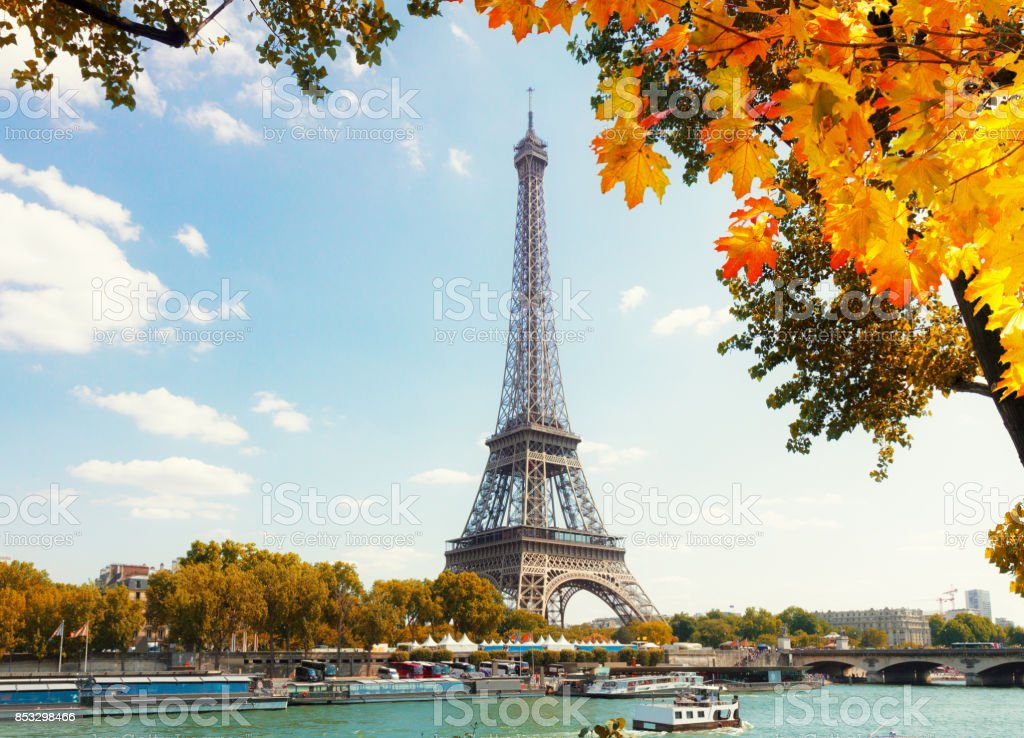 La tour eiffel de rivière de la Seine - Photo