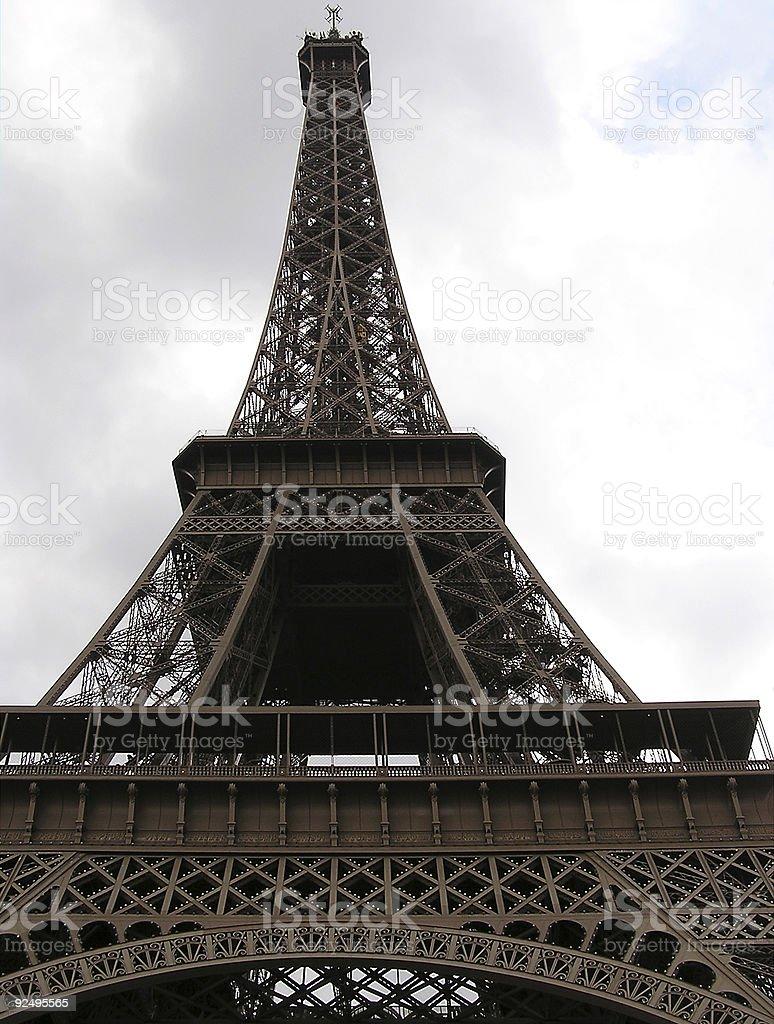 Eiffel Tower 3 royalty-free stock photo