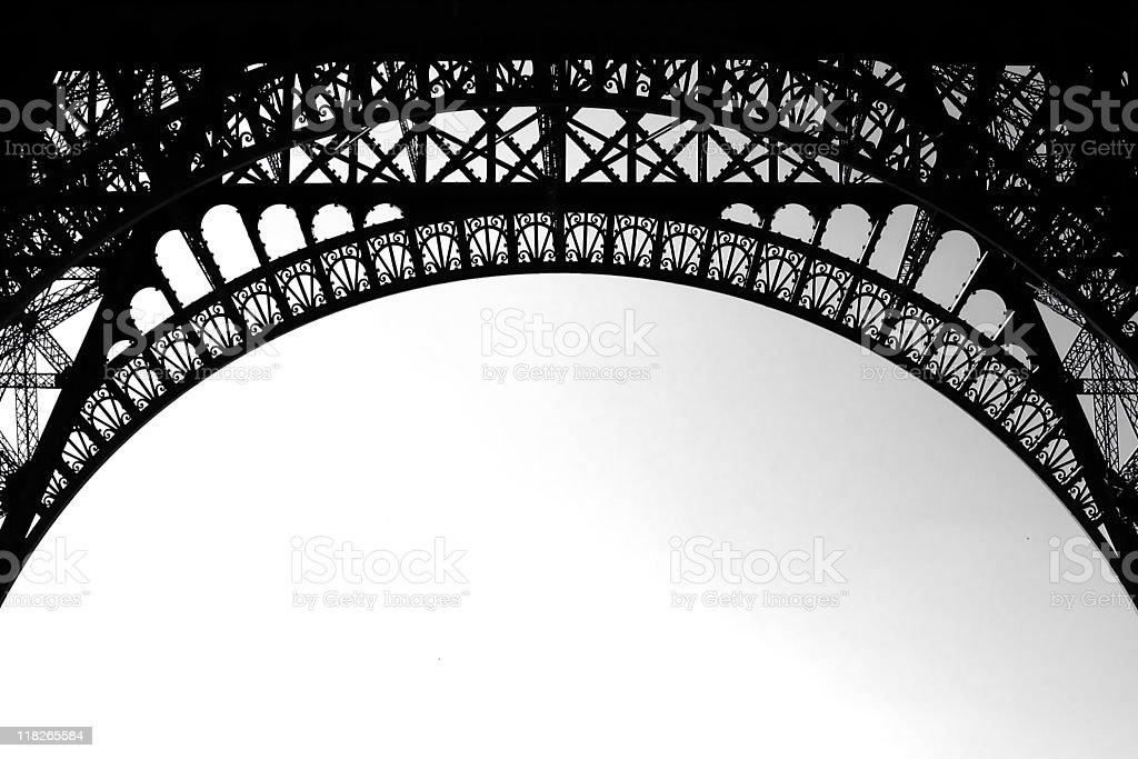 Eiffel Tower Frame stock photo